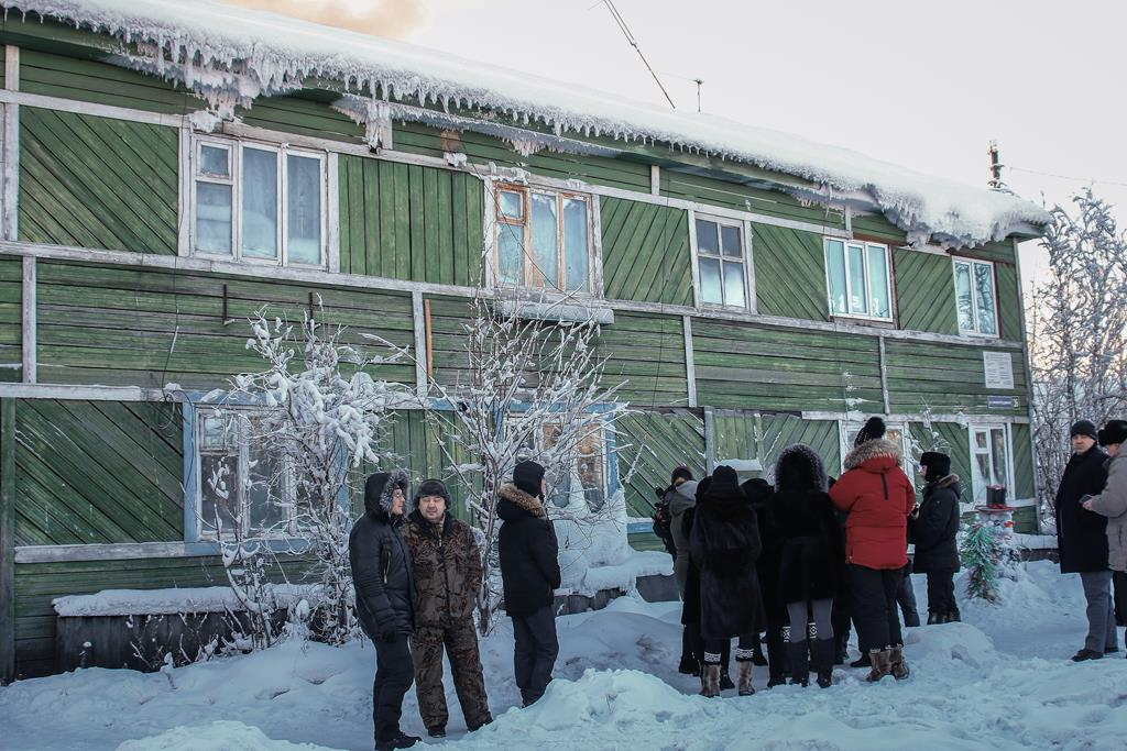 якутия хандыга фотографии домов прекрасный