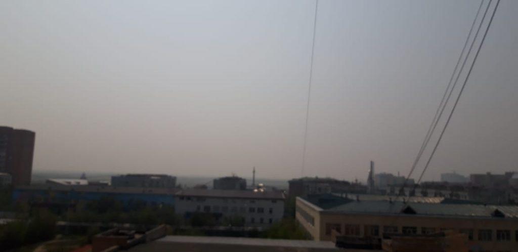 В воздухе Якутска ПДК загрязняющих веществ превышен сегодня по четырём показателям