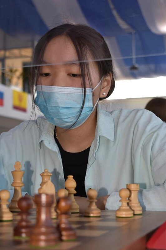 Якутянки провели матчи в высшей лиге чемпионата России по шахматам