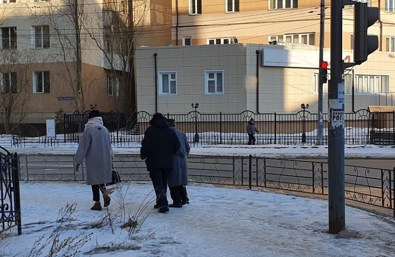 якутск зима пешеход 2